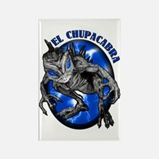 Chupacabra with Background 8 Rectangle Magnet