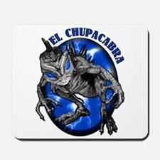 Chupacabra with Background 8 Mousepad