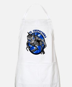Chupacabra with Background 8 BBQ Apron