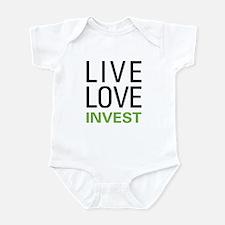 Live Love Invest Infant Bodysuit
