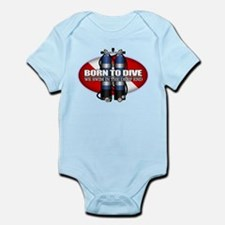 Born To Dive (ST) Body Suit