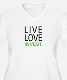 Live Love Invest T-Shirt