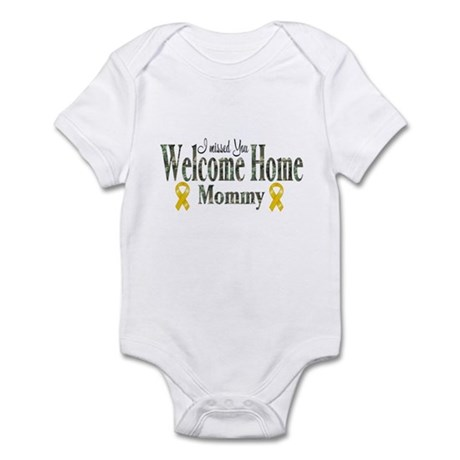 Welcome home mommy Infant Bodysuit