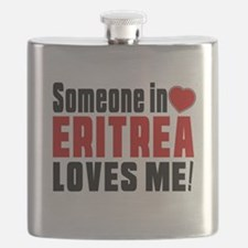 Someone In Eritrea Loves Me Flask