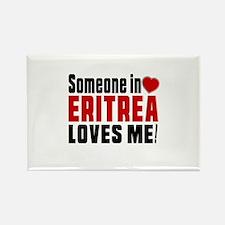 Someone In Eritrea Loves Me Rectangle Magnet