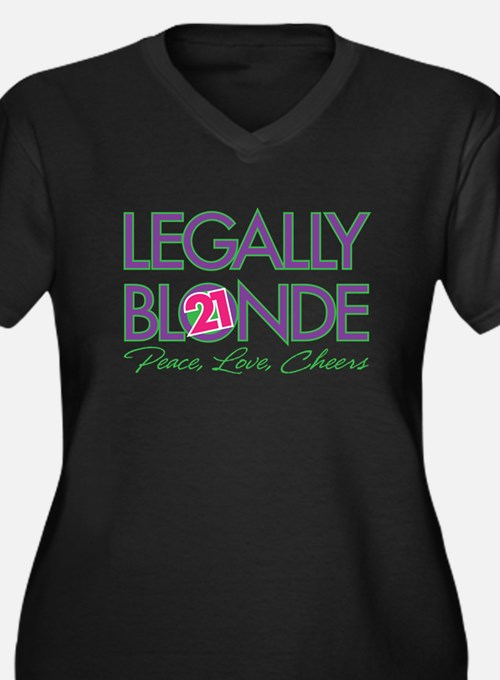 Legally Blonde 21 Plus Size T-Shirt