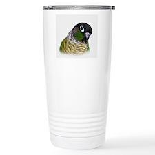 Cute Green cheek conure Travel Mug