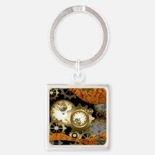 Steampunk, clocks and gears Keychains