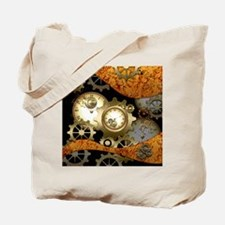 Steampunk, clocks and gears Tote Bag