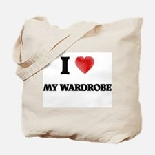 I love My Wardrobe Tote Bag