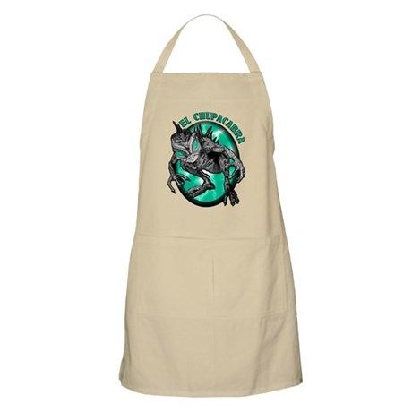 Chupacabra with Background 6 BBQ Apron
