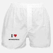 I Love Mythological Boxer Shorts
