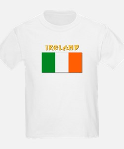 Flag of Ireland w Txt T-Shirt