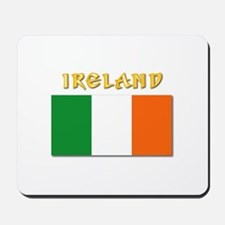 Flag of Ireland w Txt Mousepad