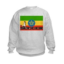 Ethiopia Flag Soccer Sweatshirt