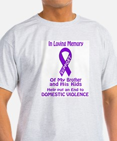 In memory/Brother and kids T-Shirt