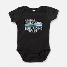 Please wait, Installing Bull Riding Baby Bodysuit