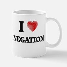 I Love Negation Mugs