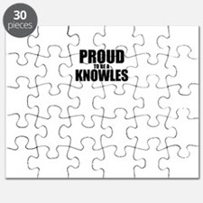 Proud to be KNOWLES Puzzle