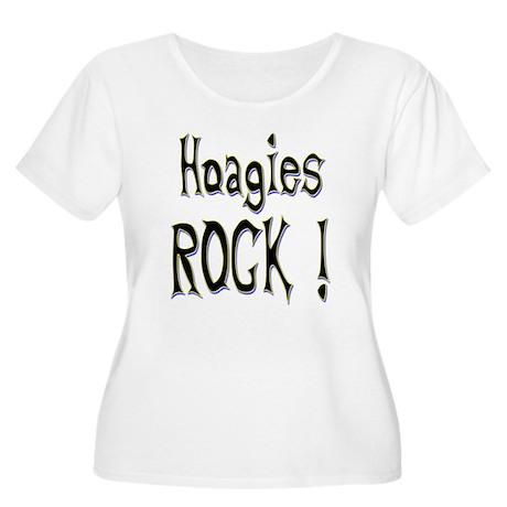 Hoagies Rock ! Women's Plus Size Scoop Neck T-Shir