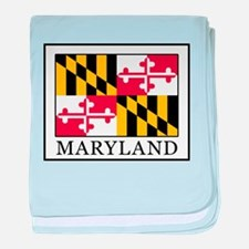 Maryland baby blanket
