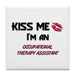 Kiss Me I'm a OCCUPATIONAL THERAPY ASSISTANT Tile