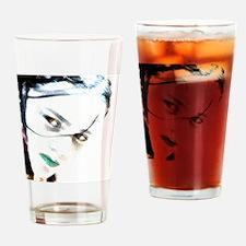Gothic Girl Drinking Glass