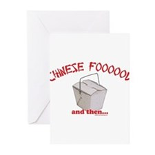 Chinese Foooood Greeting Cards (Pk of 10)