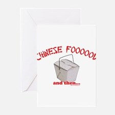Chinese Foooood Greeting Cards (Pk of 10)