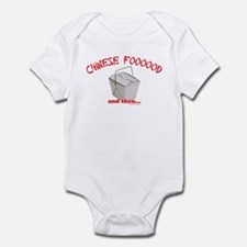 Chinese Foooood Infant Bodysuit