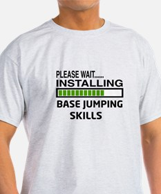 Please wait, Installing base jumping T-Shirt