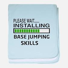 Please wait, Installing base jumping baby blanket