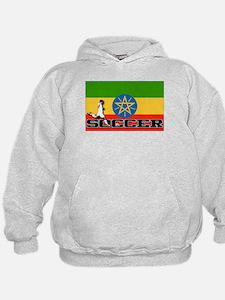 Ethiopia Flag Soccer Hoodie