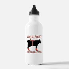 Cow A Socky Hillbilly Water Bottle