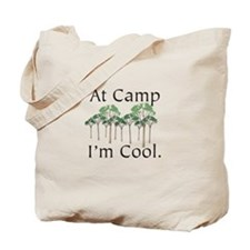 At Camp I'm Cool Tote Bag