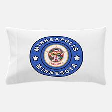 Minneapolis Minnesota Pillow Case