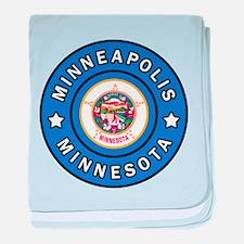 Minneapolis Minnesota baby blanket