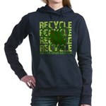 Environmental reCYCLE Women's Hooded Sweatshirt