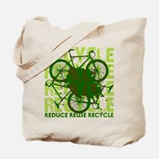 Environmental reCYCLE Tote Bag