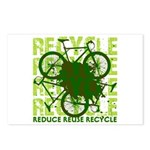 Environmental reCYCLE Postcards (Package of 8)