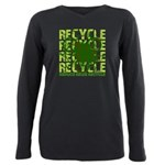 Environmental reCYCLE Plus Size Long Sleeve Tee