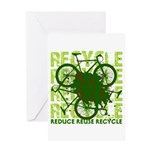 Environmental reCYCLE Greeting Cards
