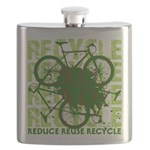 Environmental reCYCLE Flask
