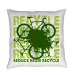 Environmental reCYCLE Everyday Pillow