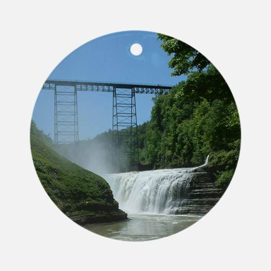Letchworth State Park Ornament (Round)
