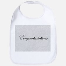 Congratulation Swirls Bib