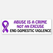 PRODUCTS/Domestic Violence Aw Bumper Bumper Bumper Sticker
