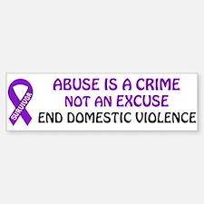 PRODUCTS/Domestic Violence Aw Bumper Bumper Bumper Sticker