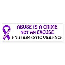 PRODUCTS/Domestic Violence Aw Bumper Bumper Sticker