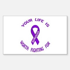 PRODUCTS/Domestic Violence Aw Sticker (Rectangular